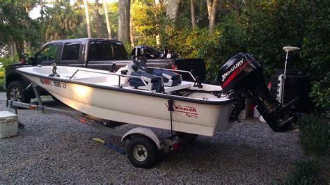 boat trailer tires savannah ga 2000 13 boston whaler 130 sport 30hp mercury 5500 the