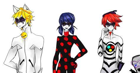 imagenes de miraculous ladybug y chat noir chat blanc y