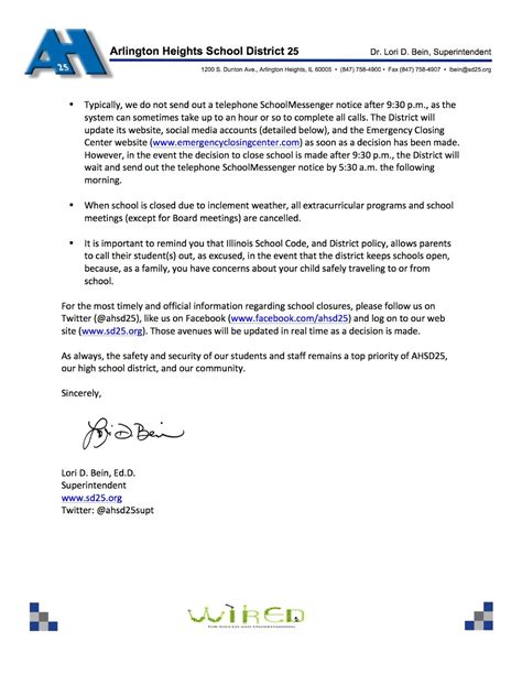 olive branch school closing guidelines