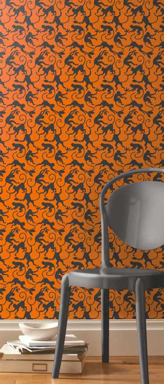 monkey wallpaper for walls animal wallpaper for walls a shade wilder
