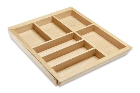 Cutlery Inserts For Drawers by Expandable Wooden Cutlery Drawer Insert Cutlery Inserts