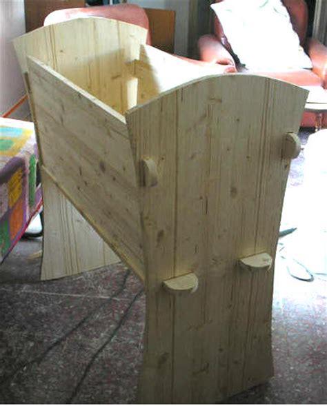 costruire una culla in legno una culla fai da te di legno tutte le istruzioni per