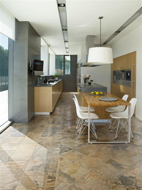 kitchen flooring design ideas tile kitchen floors hgtv