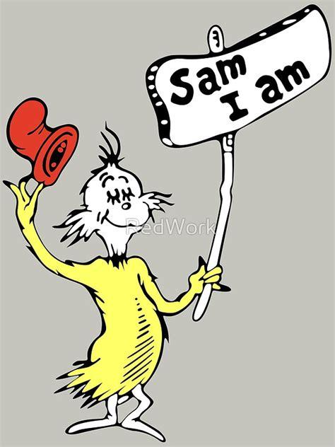 """ Dr Seuss Sam I Am"" Canvas Prints by RedWork   Redbubble"
