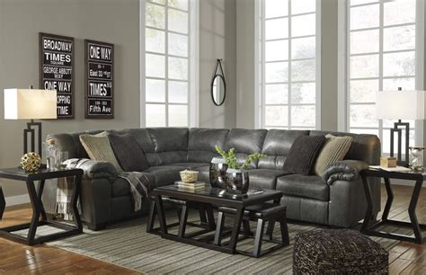 bladen sofa and loveseat bladen slate 3 pc laf sofa sectional 12001 66 46 56