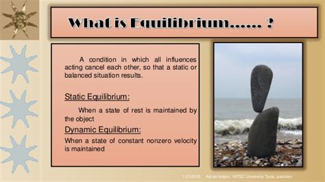 The Second Condition second condition of equilibrium