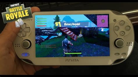 psp vita console fortnite on the go with a psvita quot playstation