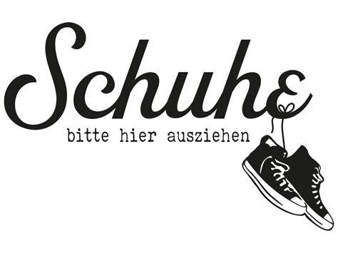 Schuhe Ausziehen by Wandtattoo Schuhe Bitte Hier Ausziehen Klebeheld 174 De