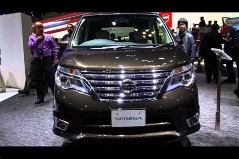 nissan new model new nissan serena 2015 model youtube