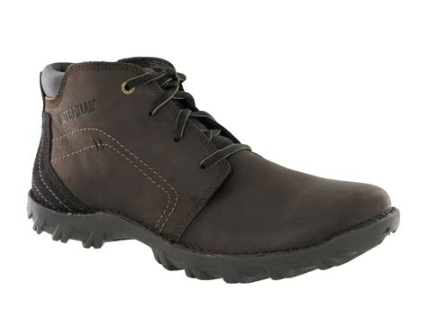 rugged ankle boots mens cat caterpillar transform rugged leather lace up ankle boots size 6 15 uk ebay