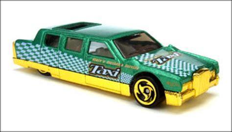 Hotwheels Limozeen 1998 Hitam Turbo Taxi Series segment series 2001 wheels