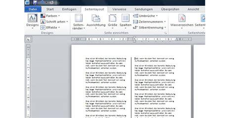 layout erstellen word 2010 word schreiben in spalten