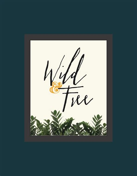 free printable wall art 8x10 wild free wall art 8x10 diy printable file by