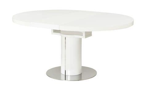 glas küchentisch esstisch ausziehbar glas weis hochglanz esszimmertisch