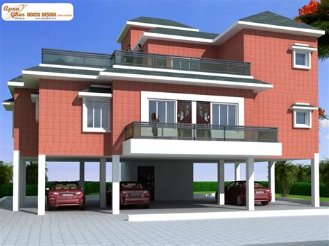 car parking designs house this is a beautiful four bedrooms duplex house design