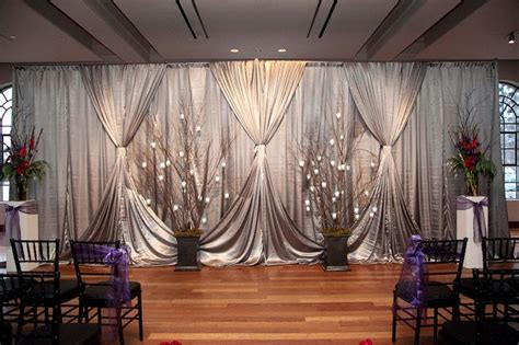 backdrop drapes for weddings pin by kelly nash crummer on ceremony decor pinterest