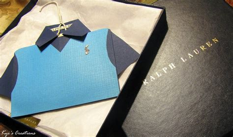 Origami Polo Shirt - pin by delicious bliss on unique invitations