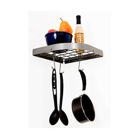 Corner Pot Rack Stand pot racks rack it up collection mps 18 series wall mount corner pot rack by enclume