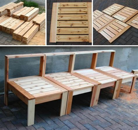 woodwork build patio furniture pdf plans