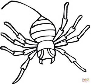 trapdoor spider coloring page spider 13 coloring page free printable coloring pages
