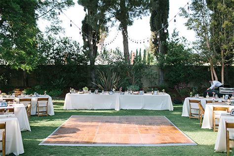 backyard wedding layout outdoor furniture design and ideas