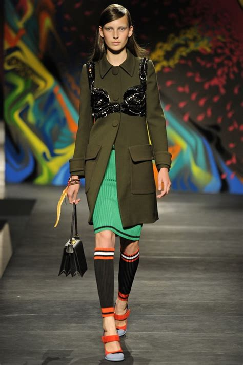 Rumpled Charm From Prada Milan Fashion Week 2009 by The Political Statement Prada 2014 Rtw Collection