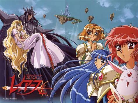 magic knight rayearth anime guys