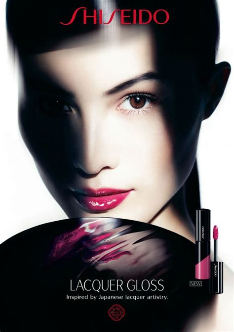 New For Shiseido Advertisements by Shiseido Advertisement Lacquer Gloss Ss 2014 Sui He By
