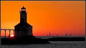 quot michigan city lighthouse quot by marlene of chicago much of