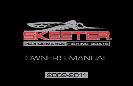 skeeter boats owners manual bass boat owners manuals skeeter boats