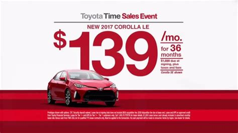 toyota time toyota time sales event tv commercial 2017 corolla