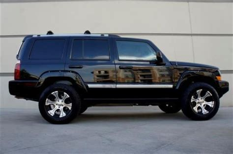 07 Jeep Commander For Sale Purchase Used 07 Jeep Commander Overland 4wd Hemi Nav