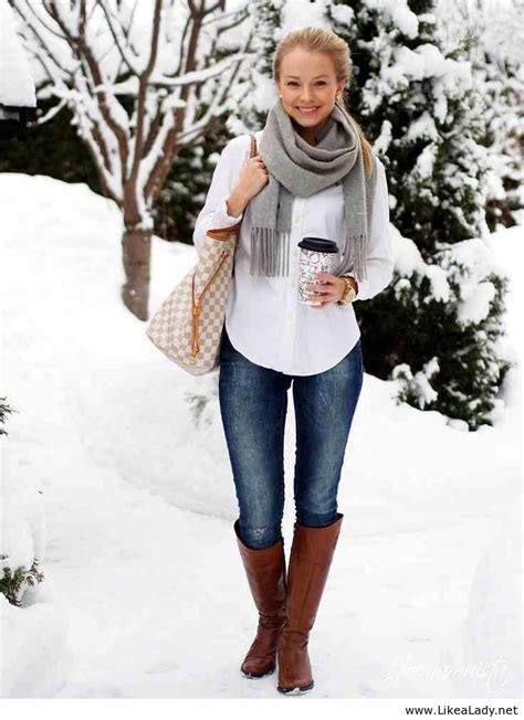 style fashion clothing winter scarf gray blue