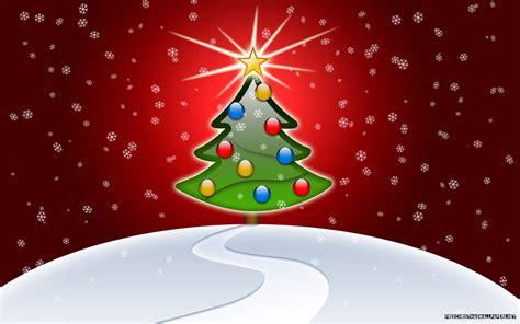 1440x900 christmas wallpaper glossy christmas tree 1440x900 wallpaper