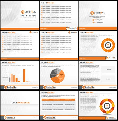 Bold Serious Powerpoint Design Design For Jason Daniels Ppt Layout