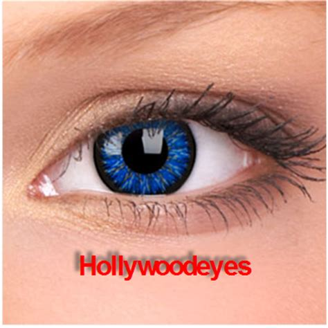 colored non prescription contacts hollywoodeyescolorcontacts blue color contact