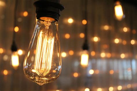 Diy Industrial Lamp Cool edison bulb wall event rental