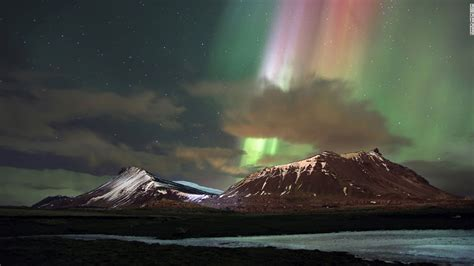 northern lights iceland march nasa shares stunning of northern lights cnn