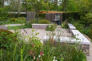 Landscape Shows The Cloudy Bay Garden At The Rhs Chelsea Flower Show 2015