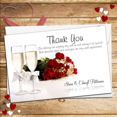 Kode N155 10 personalised chagne flutes wedding day thank you