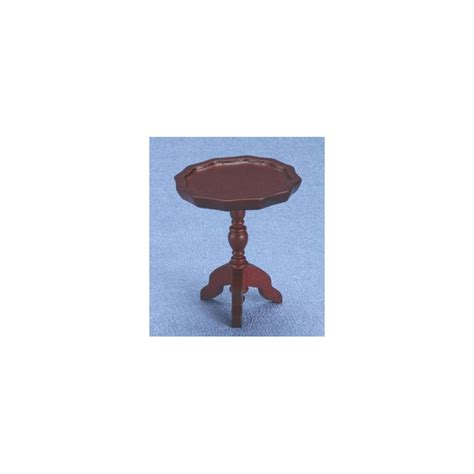 pie crust end table miniature mahogany pie crust end table dollhouse living