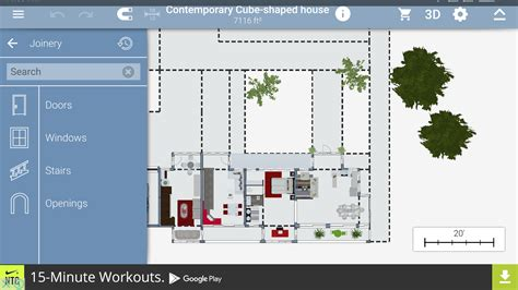desain layout android dengan droiddraw contoh hasil karya dengan sweet home 3d 3d home layout