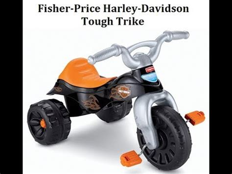 Harley Davidson Ride On Toys by Fisher Price Harley Davidson Tough Trike Best Ride