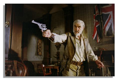 Sir Connery Announces Retirement by Lot Detail Sir Connery Belt Prop Pistol From