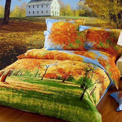 Fall Duvet Covers Beautiful Autumn Duvet Cover Set
