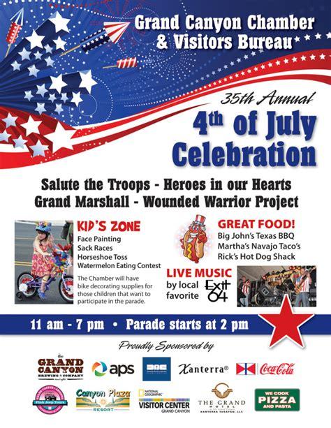 grand canyon july 4th celebrations