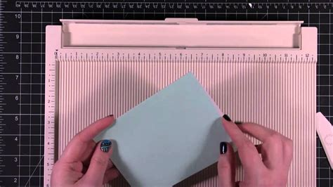 Paper Folding Board - card and paper crafting tip martha stewart
