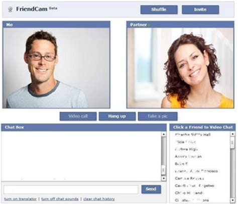 webchat cam video chat webcam call on facebook friend cameo