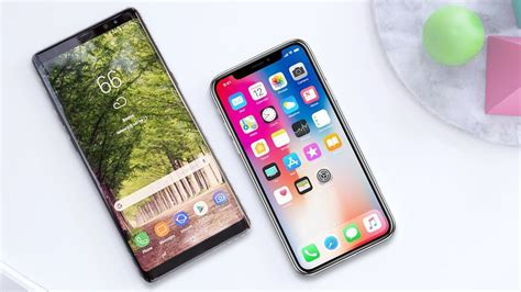 apple iphone x vs samsung galaxy note 9 comparison