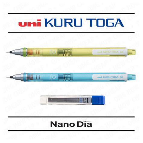 Pensil Uni Kuru Toga Mechanical Pencil Imported 05 Blue 2 x uni kuru toga self sharpening mechanical pencil blue